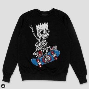 Women S Bart Simpson Sweater On Poshmark